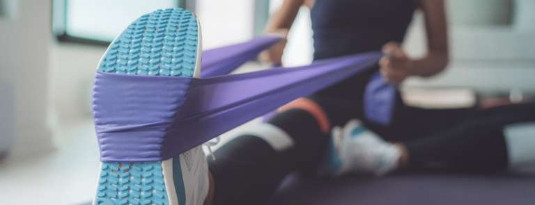 Exercise band workouts