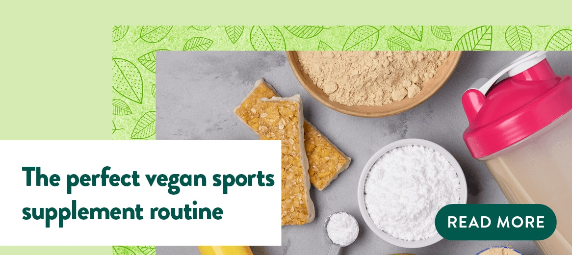 The perfect vegan sports supplement routine